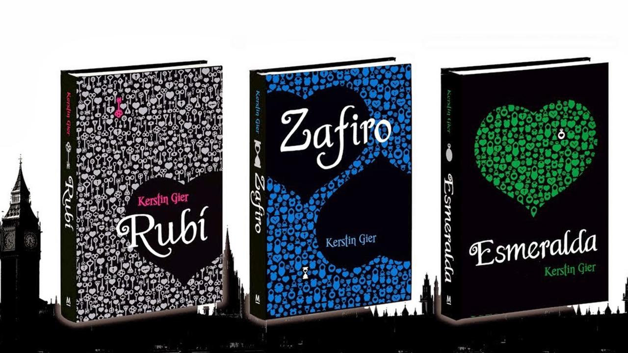 Rubí, Zafiro y Esmeralda de Kerstin Gier.